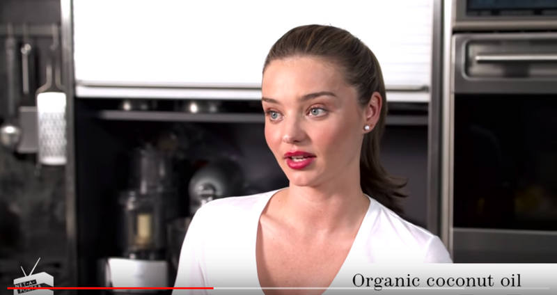 Miranda Kerr talks to NET-A-PORTER about her diet