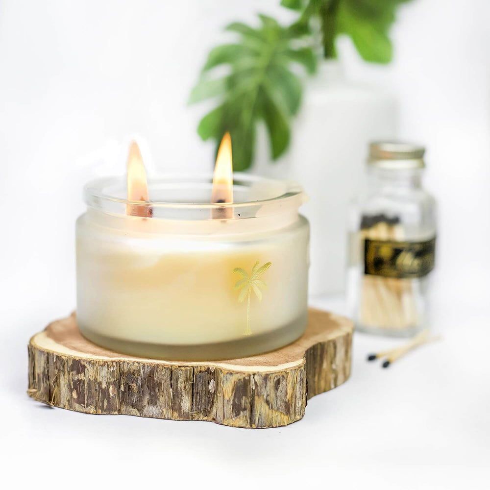 Patchouli Candle - Skinny and Company - Skinny Coconut Oil