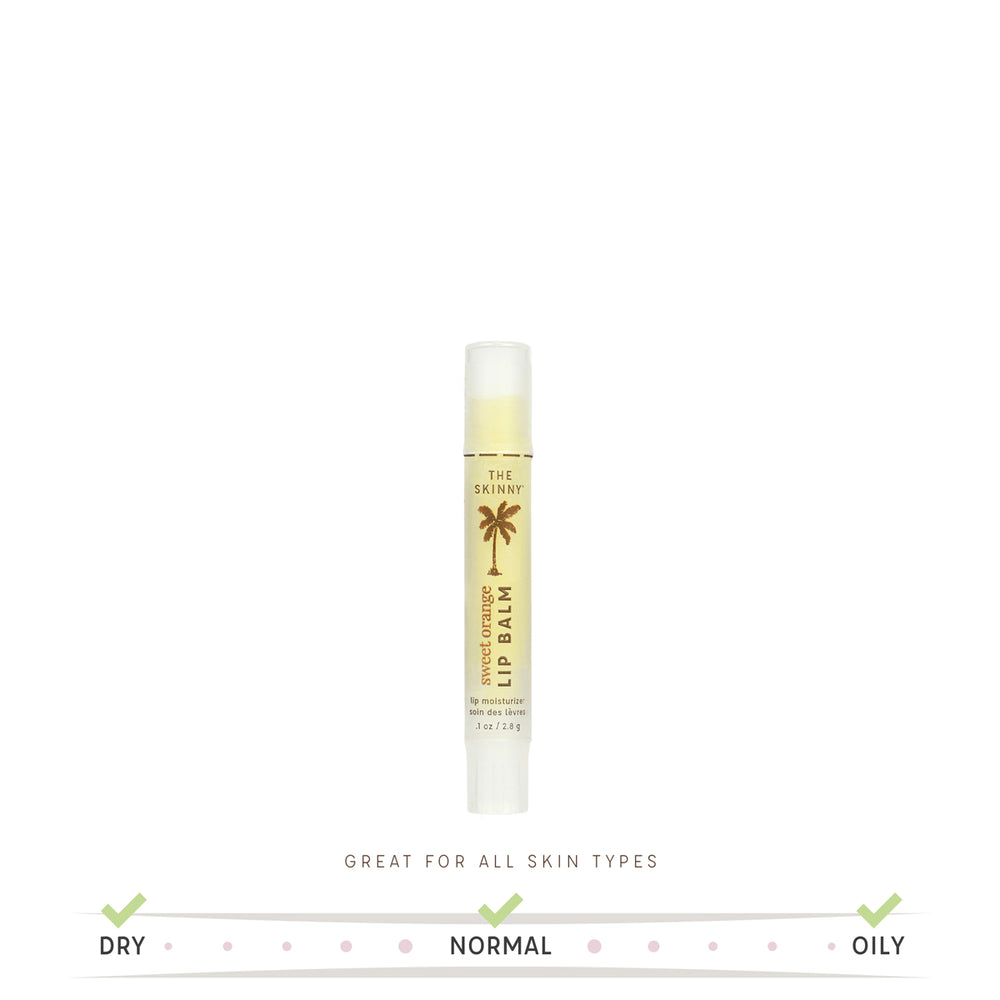 Sweet Orange Lip Balm - Skinny and Company - Skinny Coconut Oil