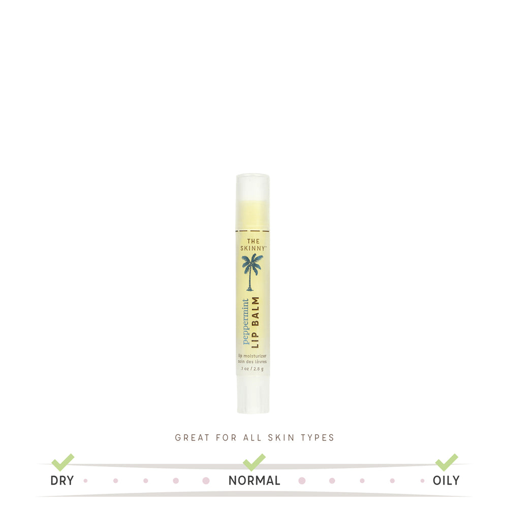 Peppermint Lip Balm - The Skinny - Skincare Reimagined
