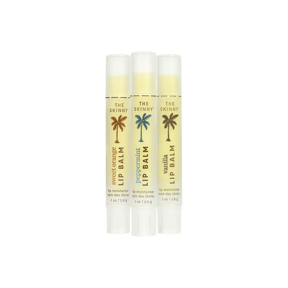 Lip Balm Trio - Skinny and Company - Skinny Coconut Oil