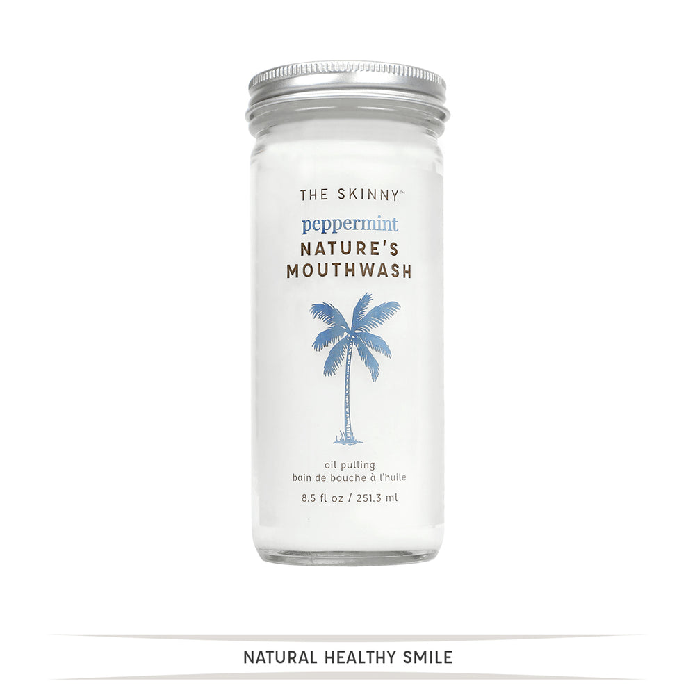 Nature's Mouthwash - 8.5 oz - Skinny and Company - Skinny Coconut Oil