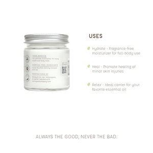Pure Beauty Balm - The Ultimate Multitasker - 4 oz - Skinny and Company - Skinny Coconut Oil
