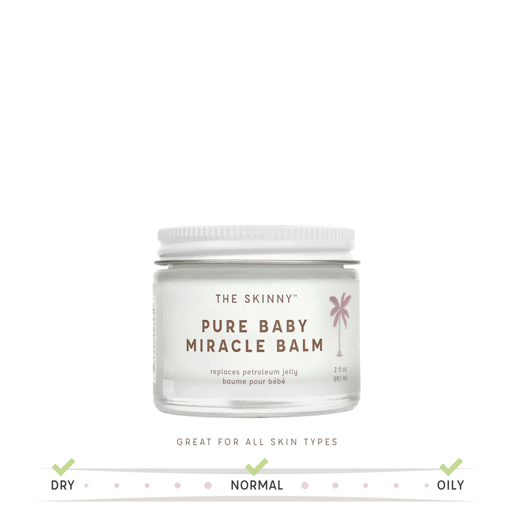 Pure Baby Miracle Balm - Soothing Care for Baby and Mom- 2 oz - Skinny and Company - Skinny Coconut Oil