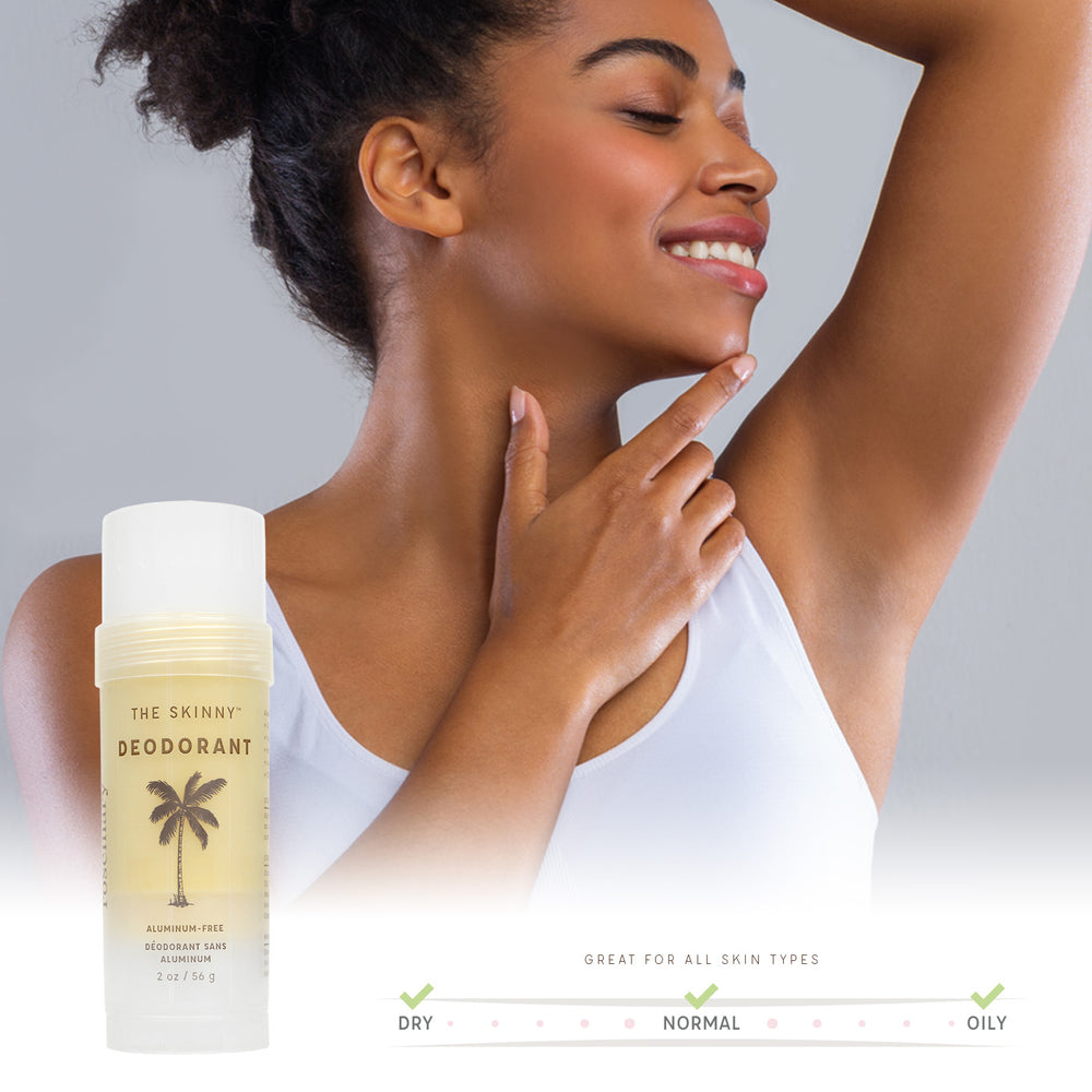 Rosemary Deodorant - Powerfully Active Natural Deodorant - The Skinny - Skincare Reimagined