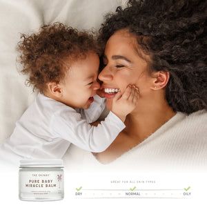 Pure Baby Miracle Balm - Soothing Care for Baby and Mom - 2 oz - The Skinny - Skincare Reimagined