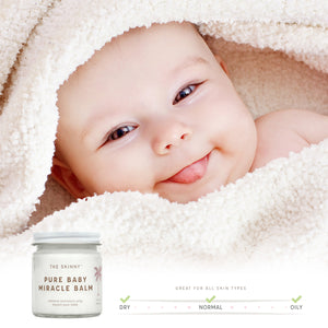 Pure Baby Miracle Balm - Soothing Care for Baby and Mom - 4 oz - Skinny and Company - Skinny Coconut Oil