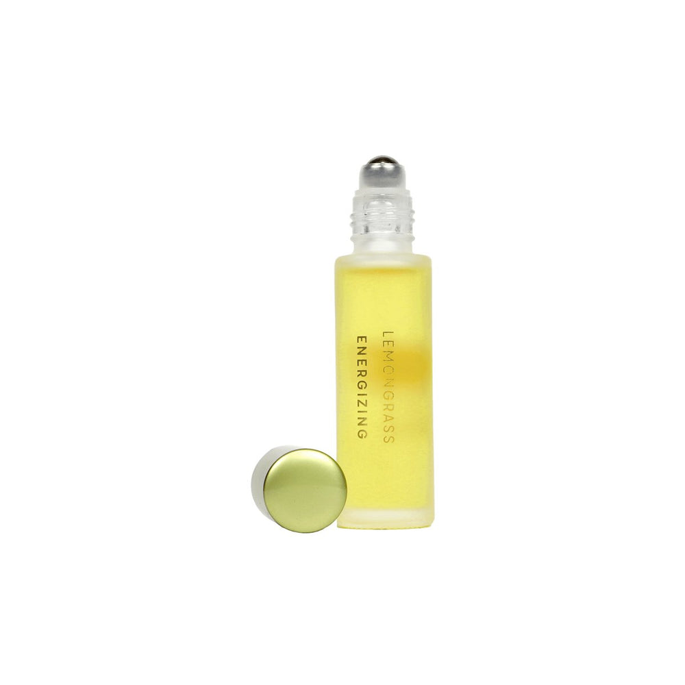 Load image into Gallery viewer, Lemongrass Essential Oil Roller - The Skinny - Skincare Reimagined