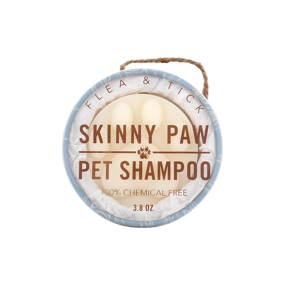 Flea & Tick Skinny Paw Bath Bar - Skinny and Company - Skinny Coconut Oil