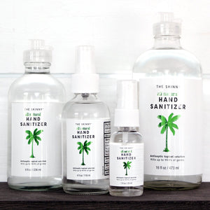 All-Natural Hand Sanitizer - Skinny and Company - Skinny Coconut Oil