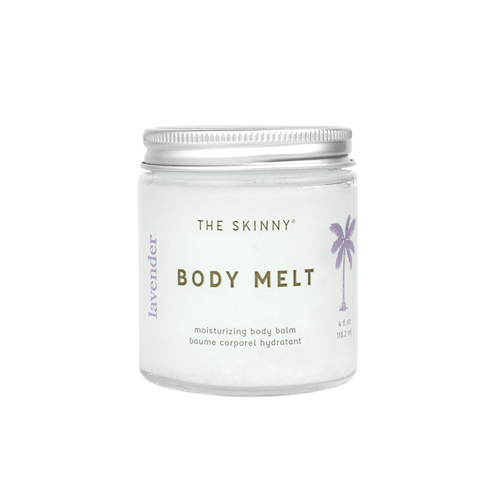 Lavender Body Melt - The Skinny - Skincare Reimagined