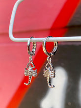 Load image into Gallery viewer, Vintage Inspired Scorpion Earrings Gold Plated in Silver Colour