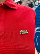 Load image into Gallery viewer, Vintage 90s Lacoste Polo Shirt in Red in M