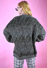 Load image into Gallery viewer, Vintage 90s Knit Jumper Brown Greyish in M/L