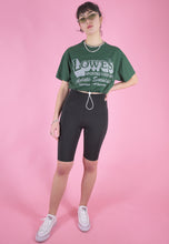 Load image into Gallery viewer, Vintage Reworked Cropped T-Shirt in Green with Graphic Print in S