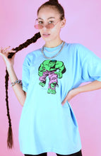 Load image into Gallery viewer, Vintage 2003 T-Shirt Hulk Light Blue With Marvel Graphic in M/L
