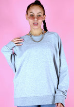 Load image into Gallery viewer, Vintage 90s Adidas Jumper Sweater Grey in M