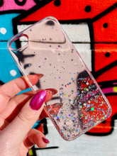 Load image into Gallery viewer, ONIMOS iPhone Case in Pink Transparent with Sparkling Glitter