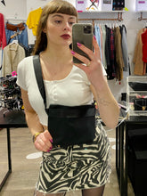 Load image into Gallery viewer, Vintage Inspired Bum Bag Cross Body in Black Fanny Pack