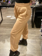 Load image into Gallery viewer, Sweat Pants in Beige with Fleece Lining