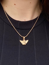 Load image into Gallery viewer, Angel Necklace with Pendant in Gold Colour
