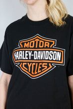 Load image into Gallery viewer, Vintage Harley-Davidson T-Shirt in Black in Size L