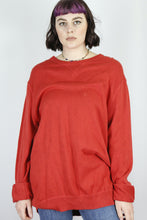 Load image into Gallery viewer, Vintage Nautica Knit Sweater in Red in Size XL