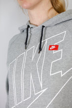 Load image into Gallery viewer, Vintage Nike Sweatshirt Hoodie in Grey in Size S/M