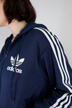 Load image into Gallery viewer, Vintage Adidas Track Jacket in Blue in Size M