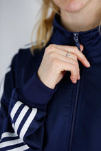 Load image into Gallery viewer, Vintage Adidas Track Jacket in Dark Blue in Size M