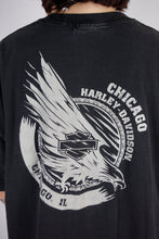 Load image into Gallery viewer, Vintage Harley-Davidson T-Shirt in Black in Size L/XL