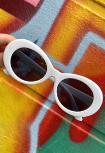 Vintage Inspired Sunglasses Kurt Cobain Shape with UV400 Glass