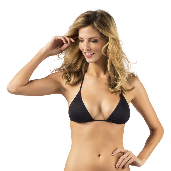 The Jennifer Flat Bikini Top Front