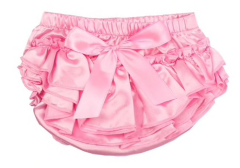 Light Pink Satin Bloomers