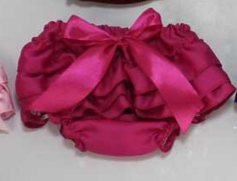 Hot Pink Satin Bloomers