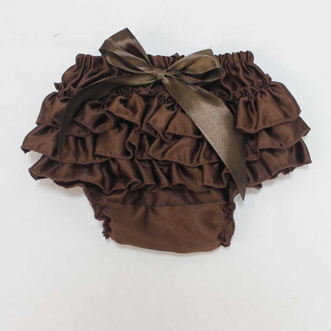 Brown Satin Bloomers