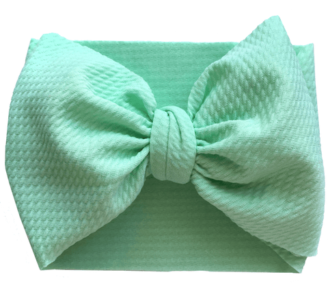 Mint Bow Wrap