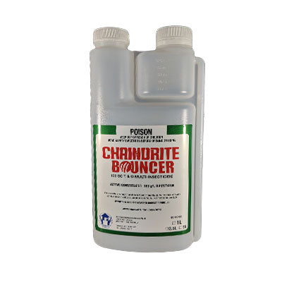 Chaindrite Bouncer Multi-Insecticide for Turf and General Pest Control - 1L