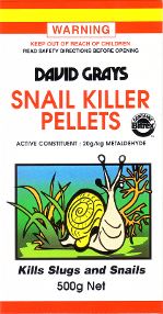 DG  Snail Killer Pellets - 500gram pack