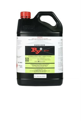 Py mist Natural Pyrethrin Insecticide - 5Litre