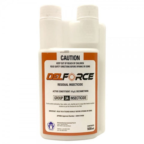 DelFORCE 10SC Residual Insecticide 500ml