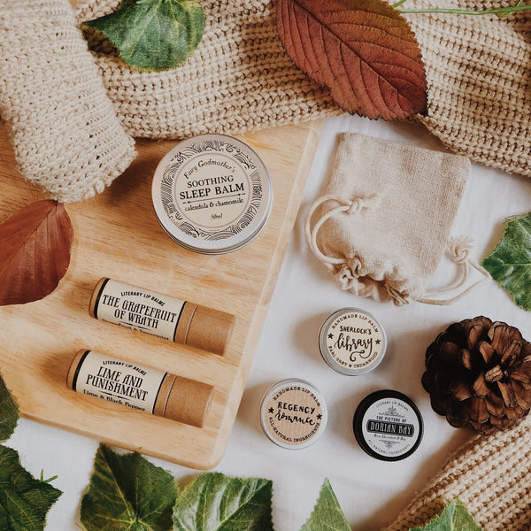 20 Stocking Fillers & Gifts for Book Lovers | Literary Lip Balms