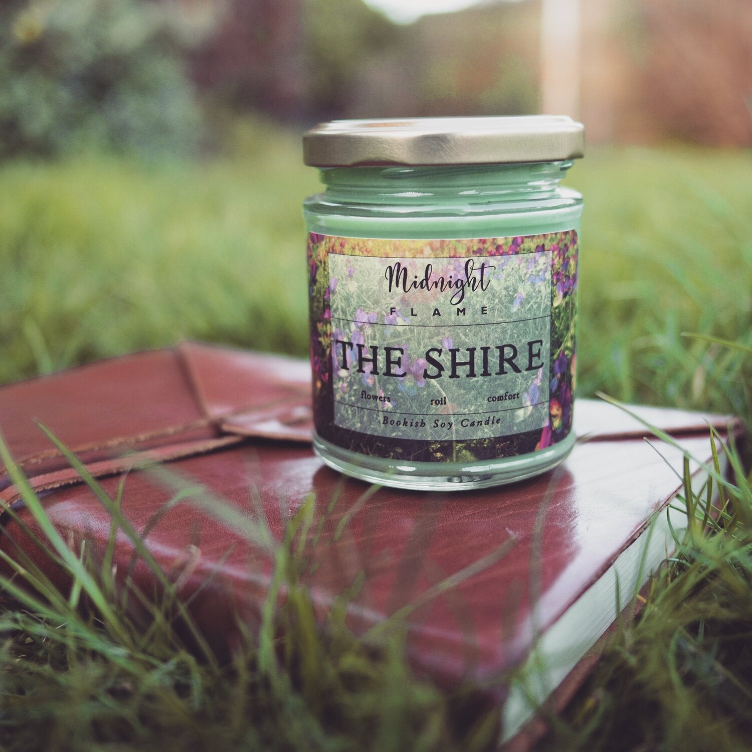 The Shire Lord of the Rings Bookish Soy Candle