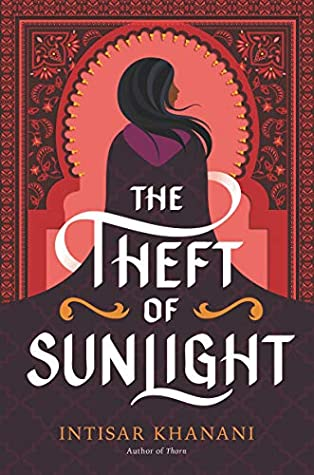 The Theft of Sunlight book cover