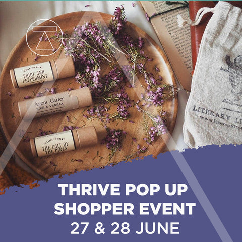 Thrive pop up shopping event - June 2020