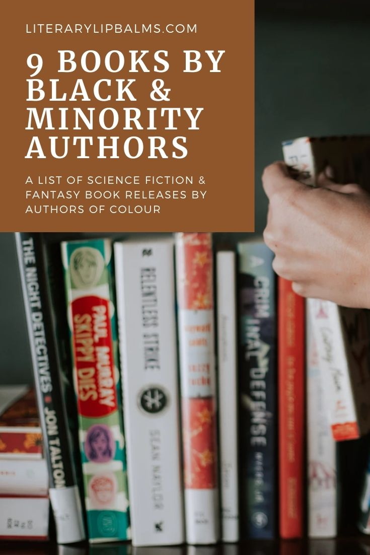 """An image with the text """"9 books by black and minority authors"""""""