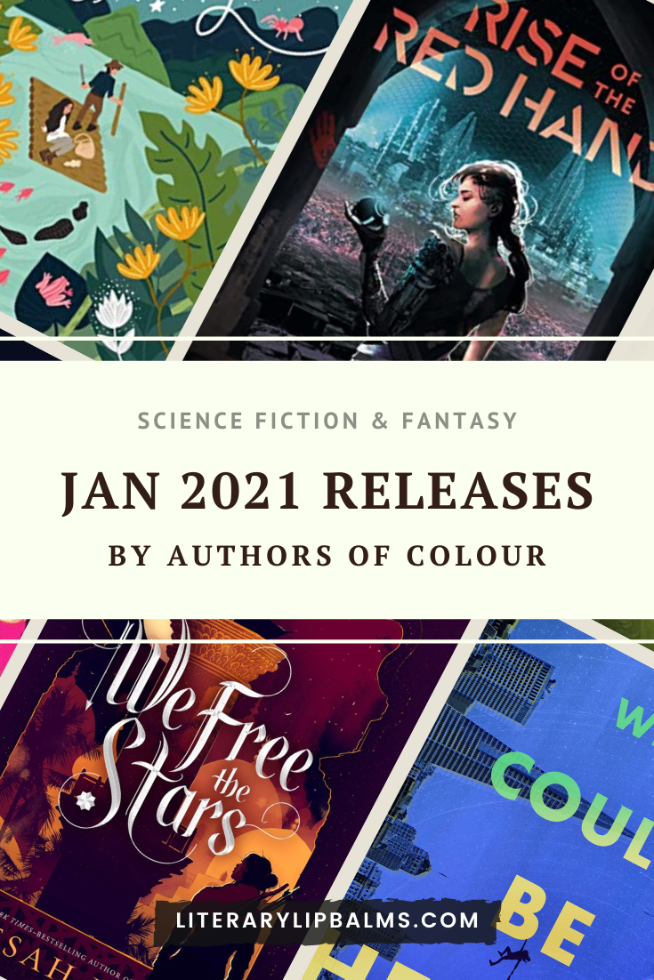 January 2021 Science Fiction and Fantasy Releases by Authors of Colour