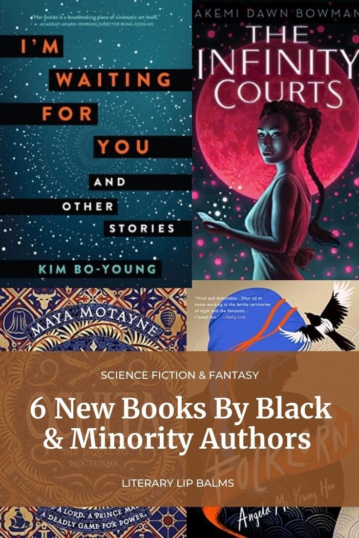 6 New books by Black and Minority Authors - 2021