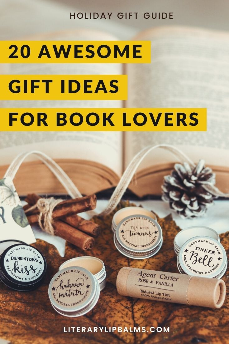 20 Gift Ideas for Book Lovers