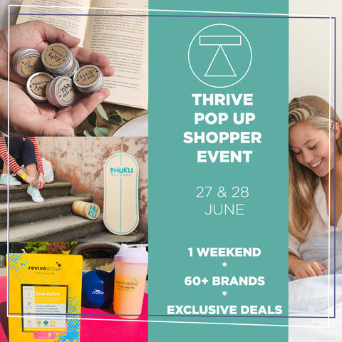 Thrive Festival Pop Up Shopping Event 2020